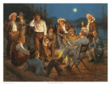 American Storytellers Reproduction d'art par Andy Thomas
