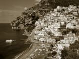 Village of Positano  Amalfi Coast  Campania  Italy