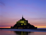 Mont St Michel  Normandy  France