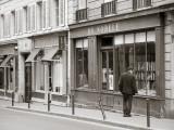 Bookshop  St Germain Des Pres District  Rive Guache  Paris  France