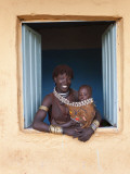 Hamer Woman with Baby