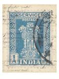 Vintage Stamp I Reproduction d'art