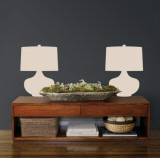 Taupe Retro Lamps