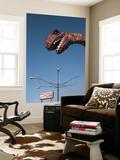 USA  Florida  Florida Panhandle  Panama City Beach  Dinosaur Statue at Miniature Golf Course
