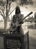 Tombstone of Johnny Ramone in Hollywood Forever Cemetery  Santa Monica Boulevard  Hollywood