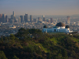 Observatory on a Hill Near Downtown  Griffith Park Observatory  Los Angeles  California  USA