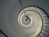 Spiral Staircase in a Lighthouse  Cabo Santa Maria Lighthouse  La Paloma  Rocha Department  Uruguay