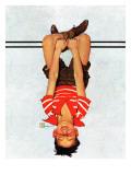"""Hanging Upside Down "" April 20  1940"