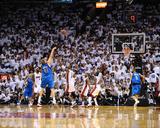 Dallas Mavericks v Miami Heat - Game Six  Miami  FL - June 12: Dirk Nowitzki and Chris Bosh