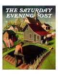"""Spring 1942 "" Saturday Evening Post Cover  April 18  1942"