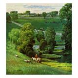 """Green Kentucky Pastures "" July 29  1961"