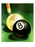 """World as Cue Ball "" January 25  1941"