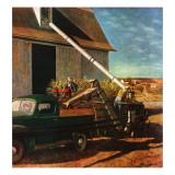 """Storing the Corn "" November 6  1948"