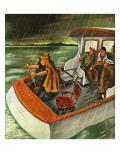 """Deep Sea Fishing in Rain "" August 31  1946"