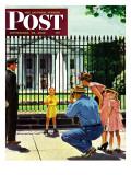 """Future President,"" Saturday Evening Post Cover, September 25, 1948 Giclée par George Hughes"
