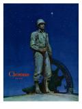 """Lone Soldier "" December 25  1943"