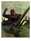 """""""Tank Attack """" January 9  1943"""