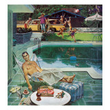 """Unwelcome Pool Guests "" July 22  1961"