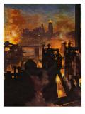 """Steel Mills "" November 23  1946"