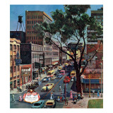 """Peachtree Street "" June 25  1960"