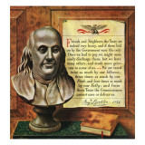 """Benjamin Franklin  1947 "" January 18  1947"