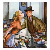 """""""Before Dinner Kiss """" April 9  1949"""