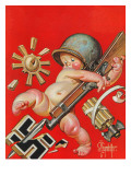 """Baby New Year at War "" January 2  1943"