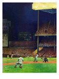 """Yankee Stadium "" April 19  1947"