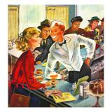 """""""Flirting Soda Jerk """" October 11  1947"""