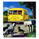 """School Bus "" September 2  1944"
