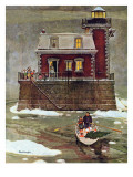 """Christmas at the Lighthouse "" December 28  1946"