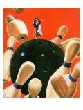 """Bowling Strike "" March 15  1941"