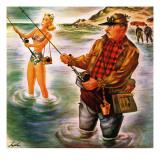 """""""Bikini Surf Fisher """" July 26  1947"""
