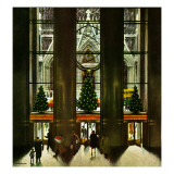 """""""St Patrick's Cathedral at Christmas """" December 3  1949"""