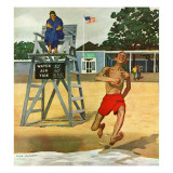 """""""Cold Water Swimmer """" June 17  1961"""