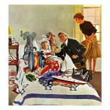 """Housecall,"" February 27, 1960 Giclée par George Hughes"