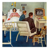 """Baseball in the Hospital "" April 29  1961"