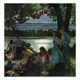 """Evening Picnic "" June 4  1949"