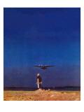 """Airplane Takeoff "" April 6  1940"