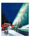 """Highway Snowplow "" January 18  1941"