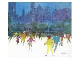 """Ice Skating in Central Park "" January 5  1963"