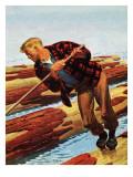 """""""Log Rolling """" December 11  1943"""
