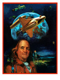 """""""Franklin and the Space Shuttle """" July 1  1973"""