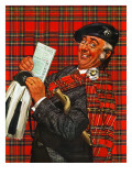 """Scotsman with Savings Bonds "" October 9  1943"
