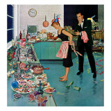 """After Party Clean-up "" January 2  1960"