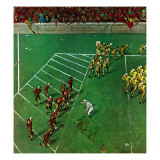 """""""Third Down  Goal to Go """" October 15  1949"""