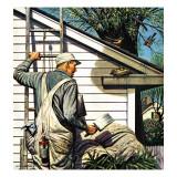"""Housepainter and Bird's Nest "" May 12  1945"