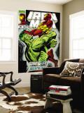 Iron Man No305 Cover: Iron Man and Hulk Fighting