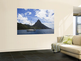 The Pitons on Southwestern Coast