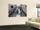 Gondolas in Small Canal